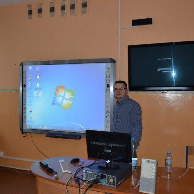 Szkolenie tablica interaktywna qomo