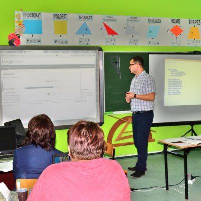 Tablice interaktywne 2x3 szkolenia w szkole
